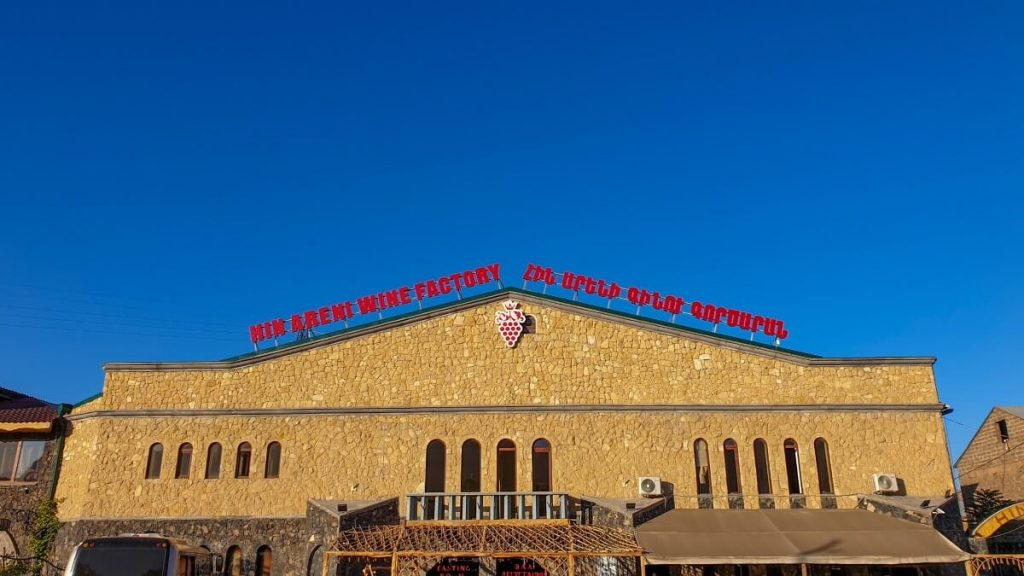 winiarnia areni armenia