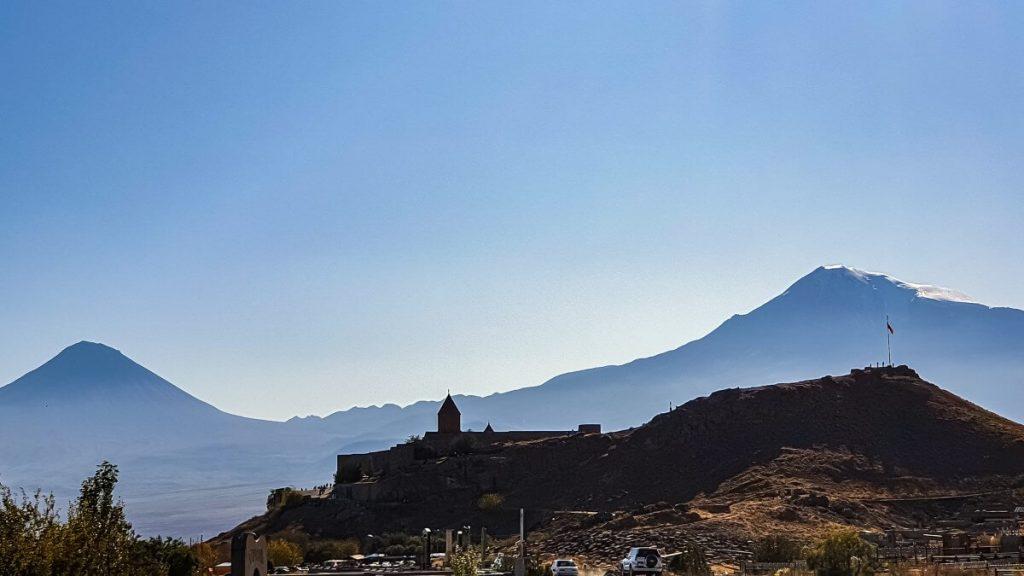 khor virap armenia ararat gora