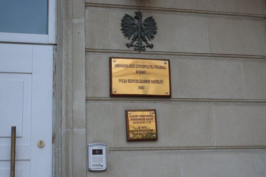 Ambasada Polska Baku Azerbejdzan