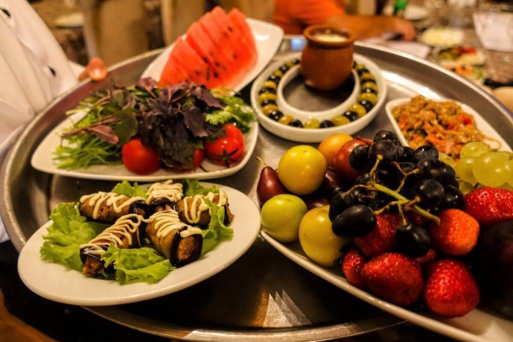 Azerbejdzan Baku i okolice kuchnia restauracja
