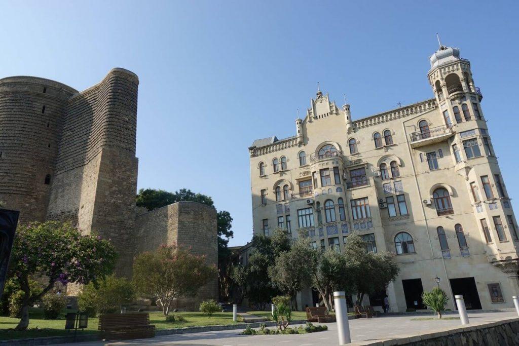 Azerbejdzan Baku i okolice Baszta Dziewicy
