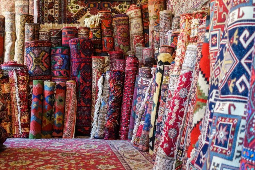 Azerbejdzan Baku pracownia dywanow tradycyjna kultura