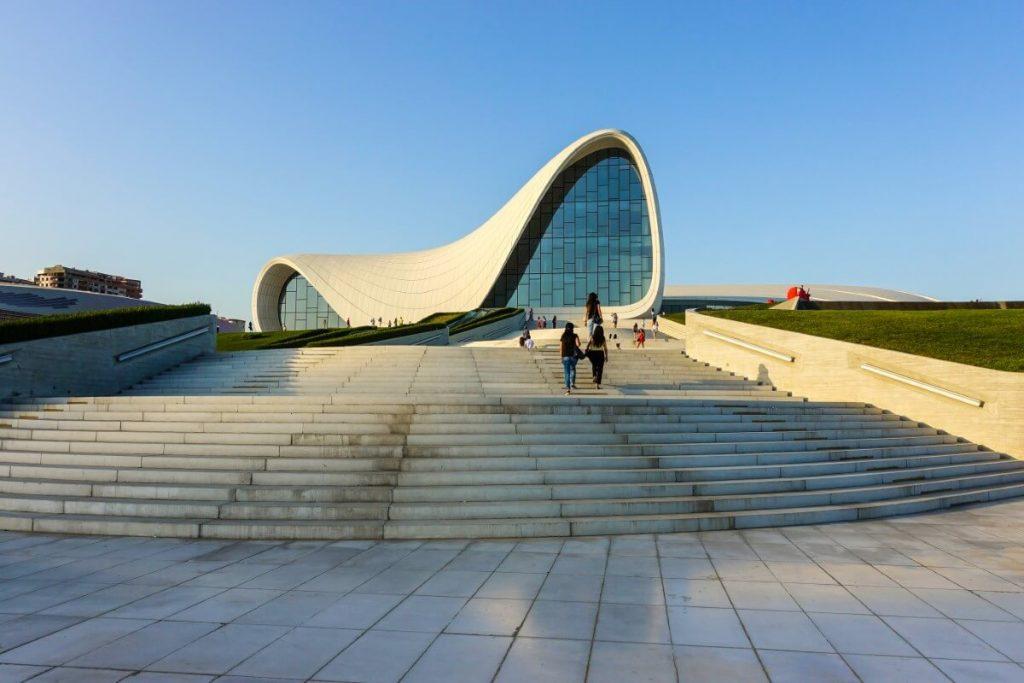 Muzeum Hejdara Alijewa Baku centrum kultury