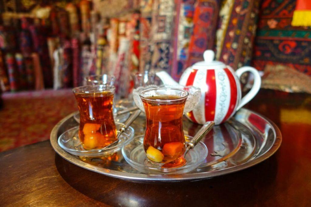 Azerbejdzan kuchnia herbata restauracja Baku