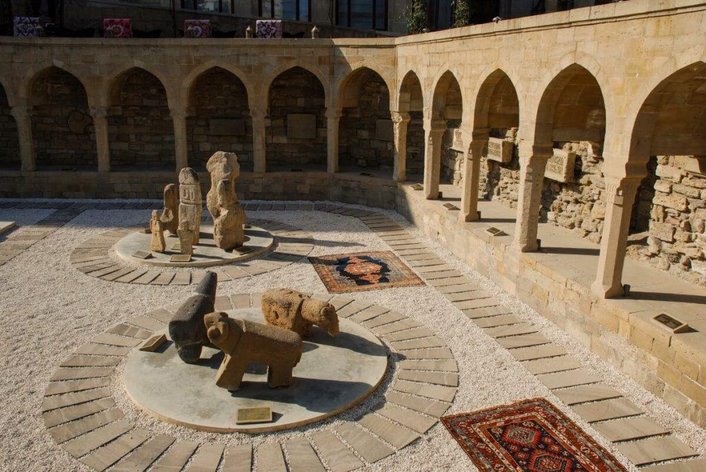 Baku Azerbejdzan centrum Wewnetrzne Miasto