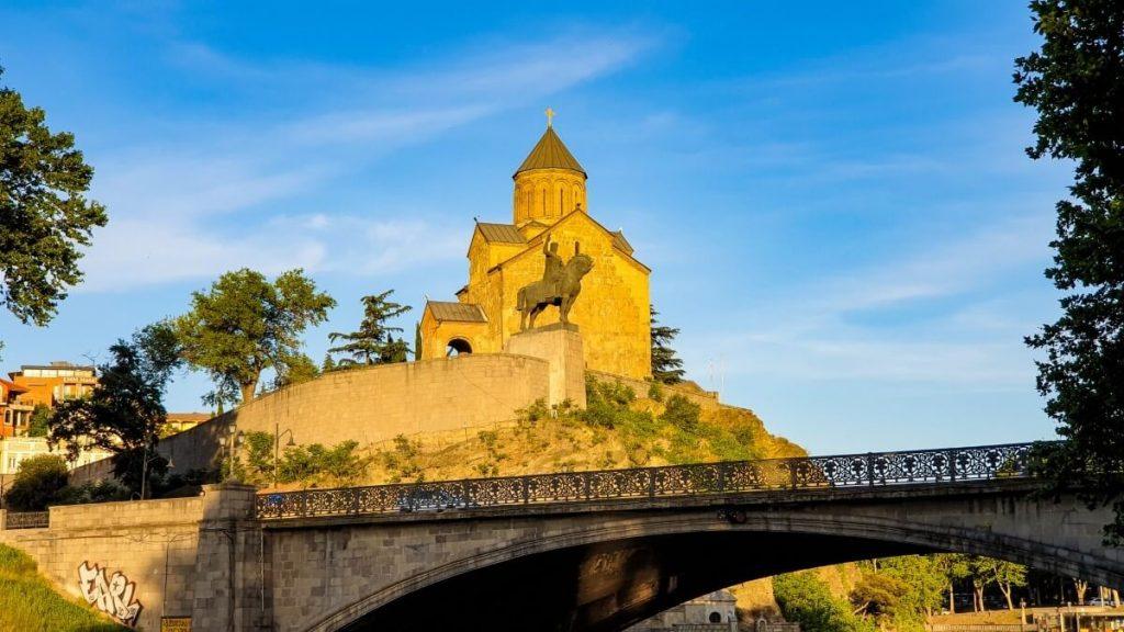 Tbilisi przewodnik atrakcje zwiedzanie