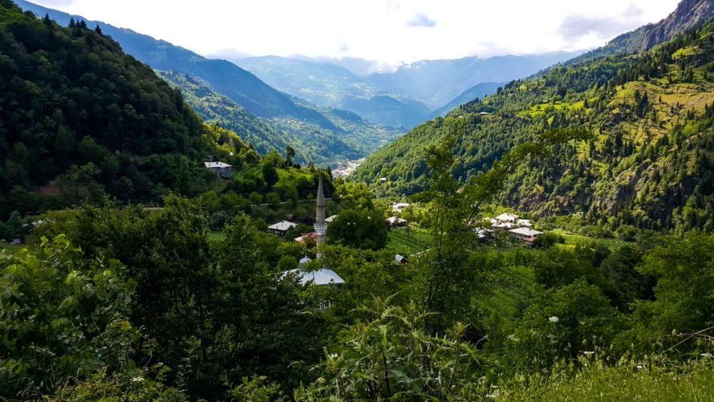 Gorna Adzaria Kaukaz meczet wioska