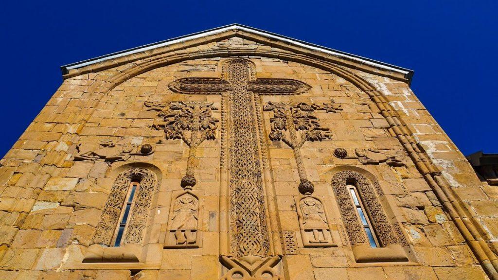 Krzyz cerkiew Ananuri