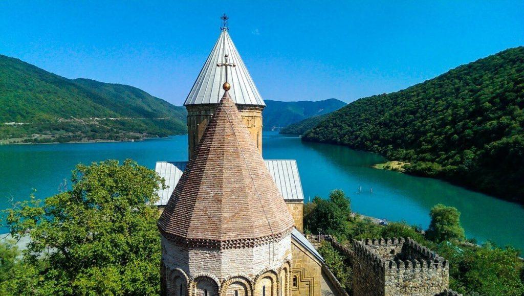 Ananuri Gruzinska Droga Wojenna