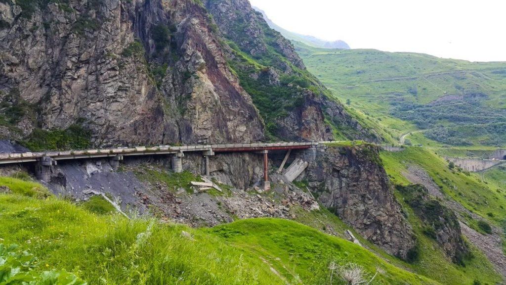 Z widokiem na Kazbek