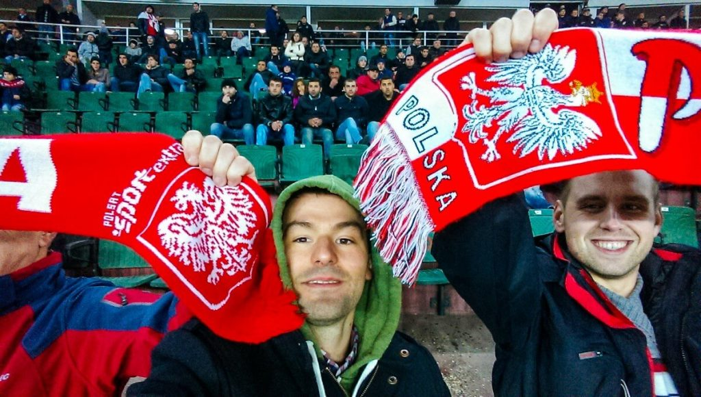 Mecz Polska Gruzja 2014 Tbilisi