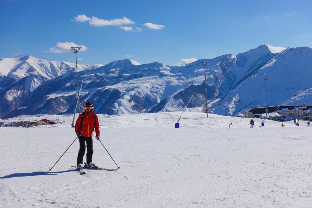 narty w gruzji gudauri raj dla narciarzy