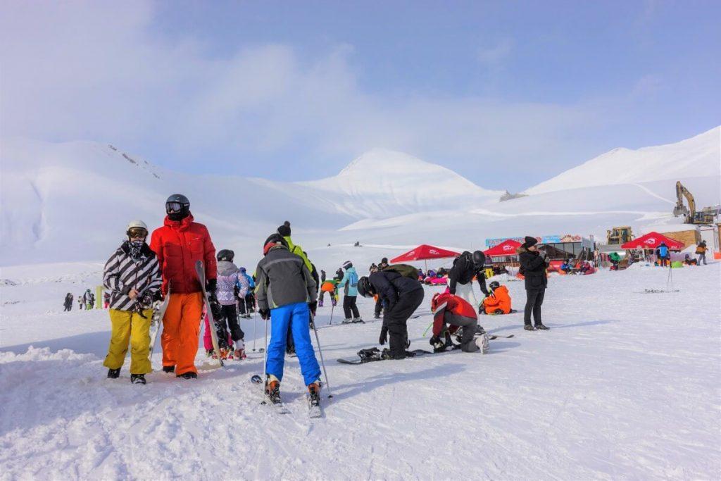 narty w gruzji gudauri raj dla narciarzy rodzinne ferie