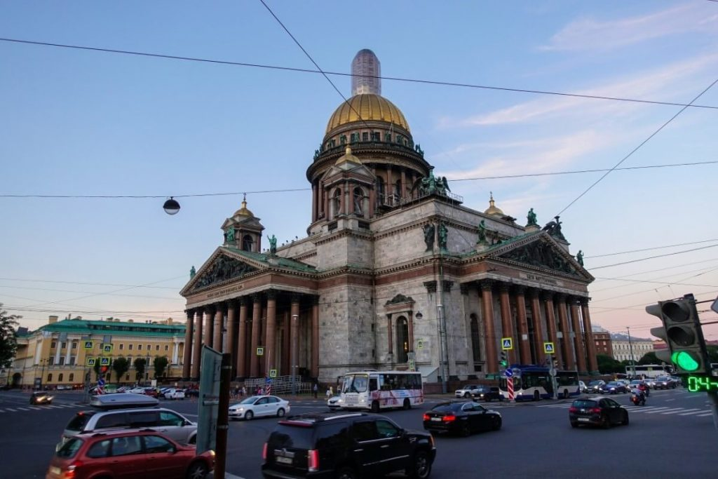 Petersburg i Moskwa w 9 dni – wyprawa do innego wymiaru Sobór świętego Izaaka Dalmatyńskiego w Petersburgu