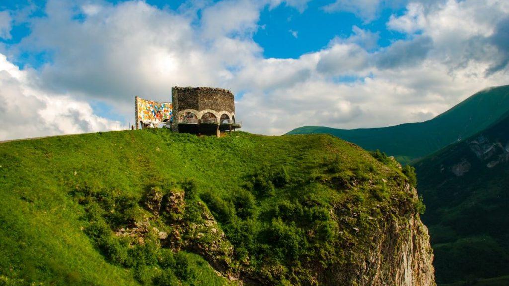 Gruzinska Droga Wojenna Pomnik Przyjazni