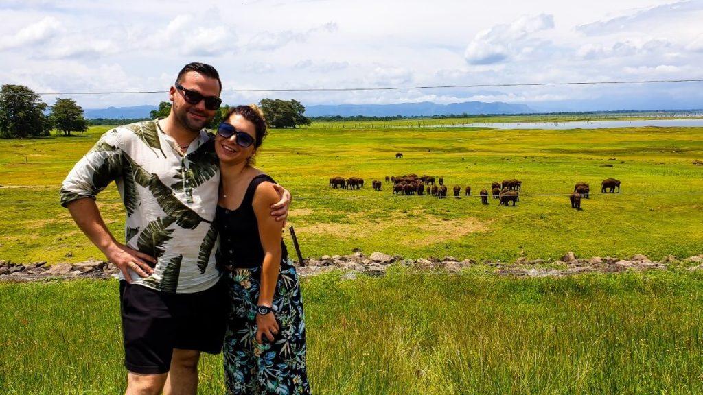 udawalawa polakogruzin podroz safari park narodowy slonie