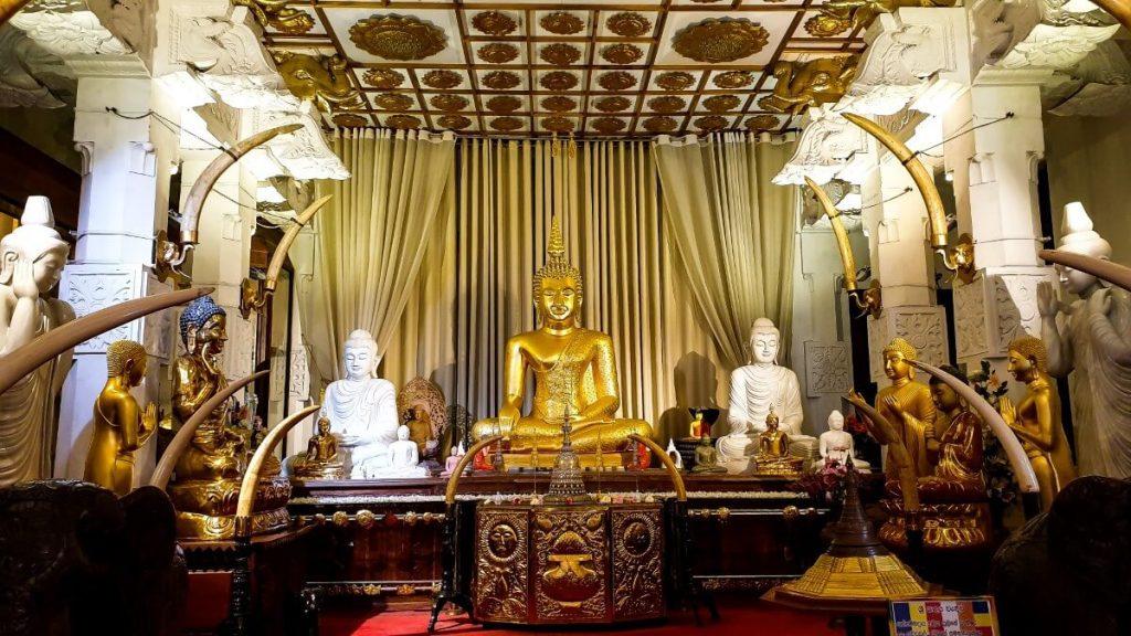 kandy swiatynia zeba buddy sri lanka religia buddyzm