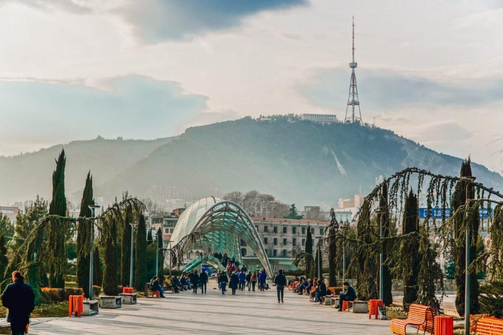 Zima w Tbilisi