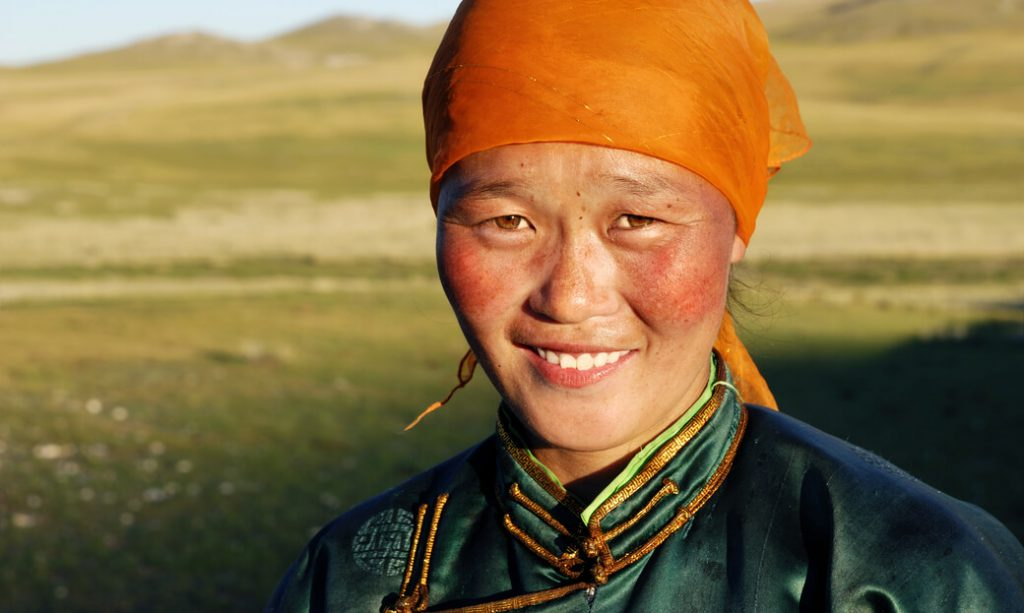 mongolia kobieta