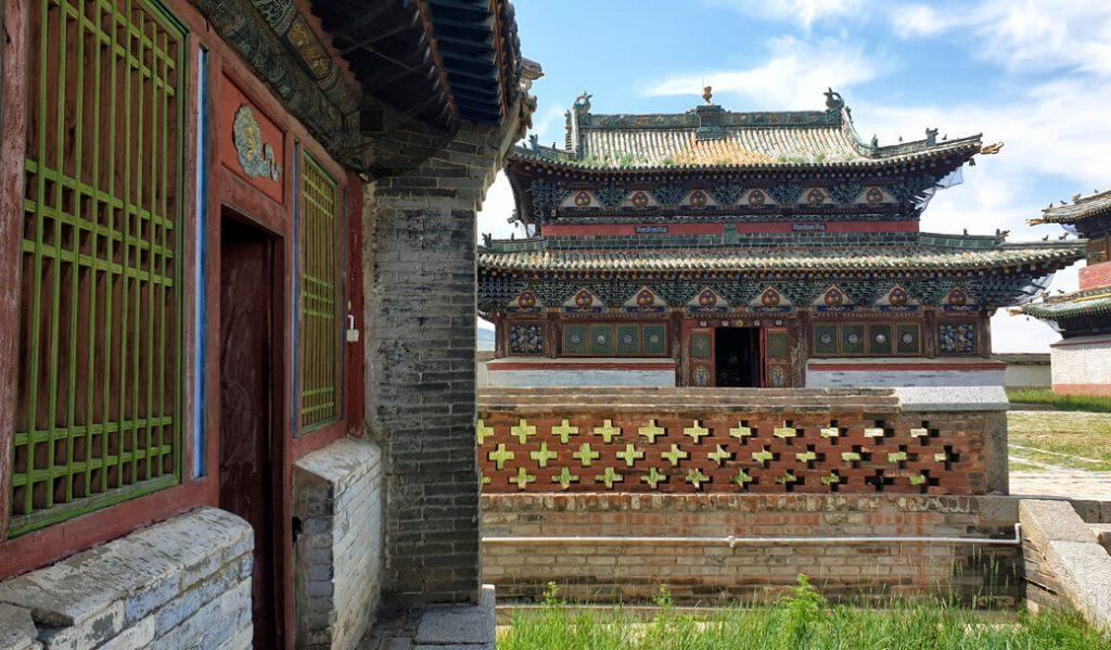 Klasztor Erdene Dzuu Mongolia