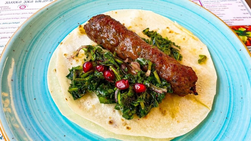 Kuchnia Gruzinska kababi