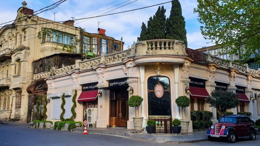 Gdzie zjesc i wypic w Tbilisi