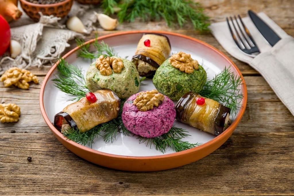 przepis na pchali - gruzińska przystawka z warzyw i orzechów