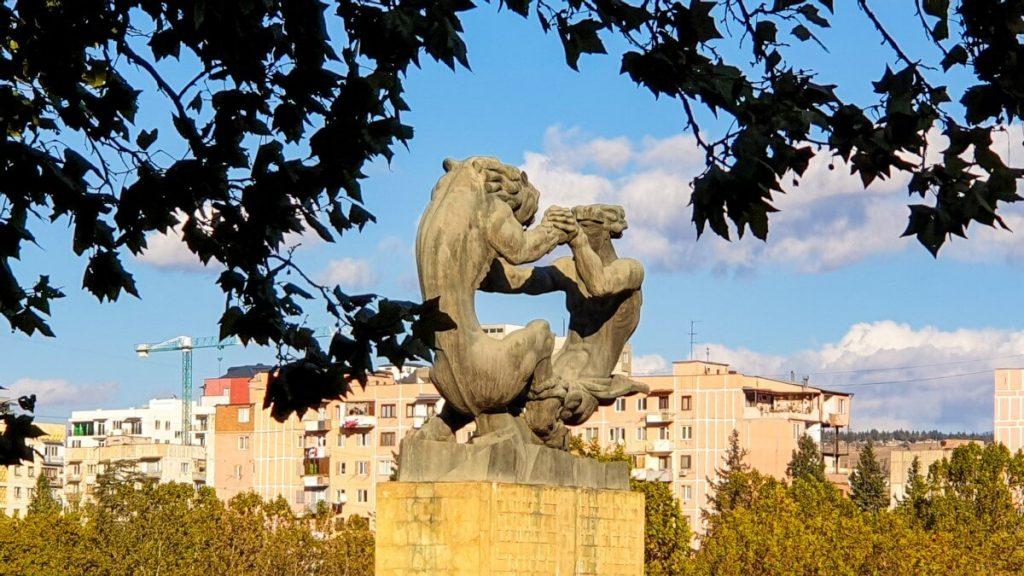 Pomniki Tbilisi Gruzja