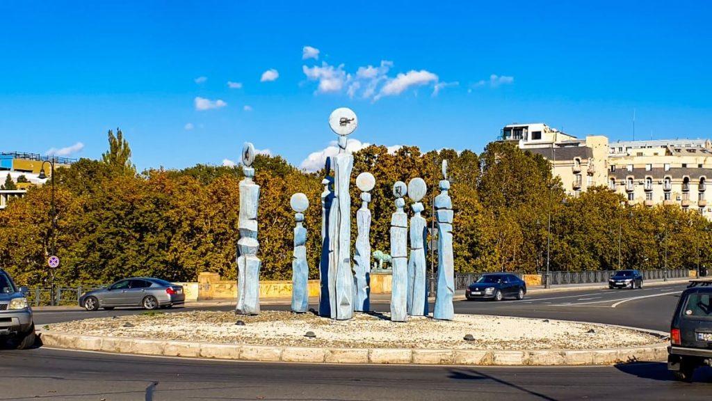 Pomniki Gruzji Zegary
