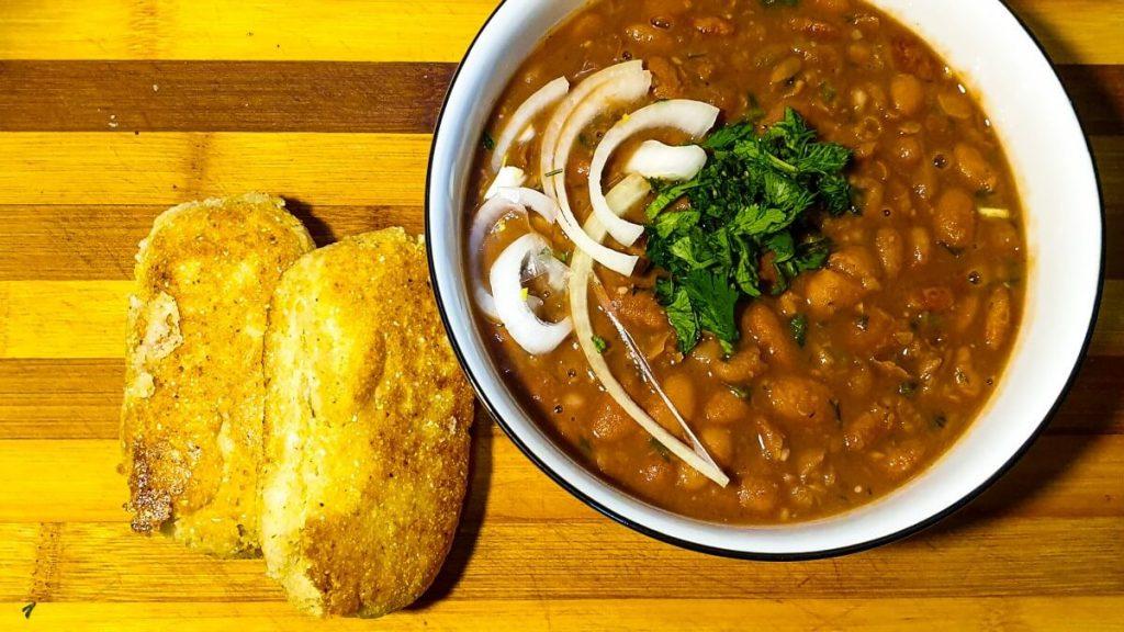 gruzinskie lobio przepis na zupe krem z fasoli