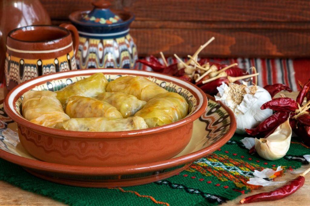 Sarma sarmale dolma kuchnia Balkanow