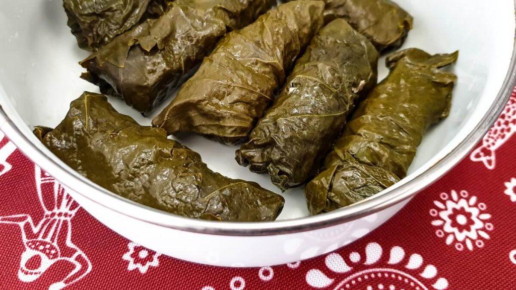 Kuchnia Kaukazu przepis tolma dolma