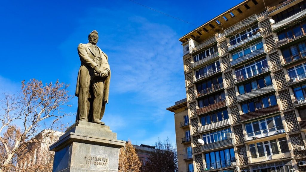 Aleksander Gribojedow pomnik Tbilisi Gruzja
