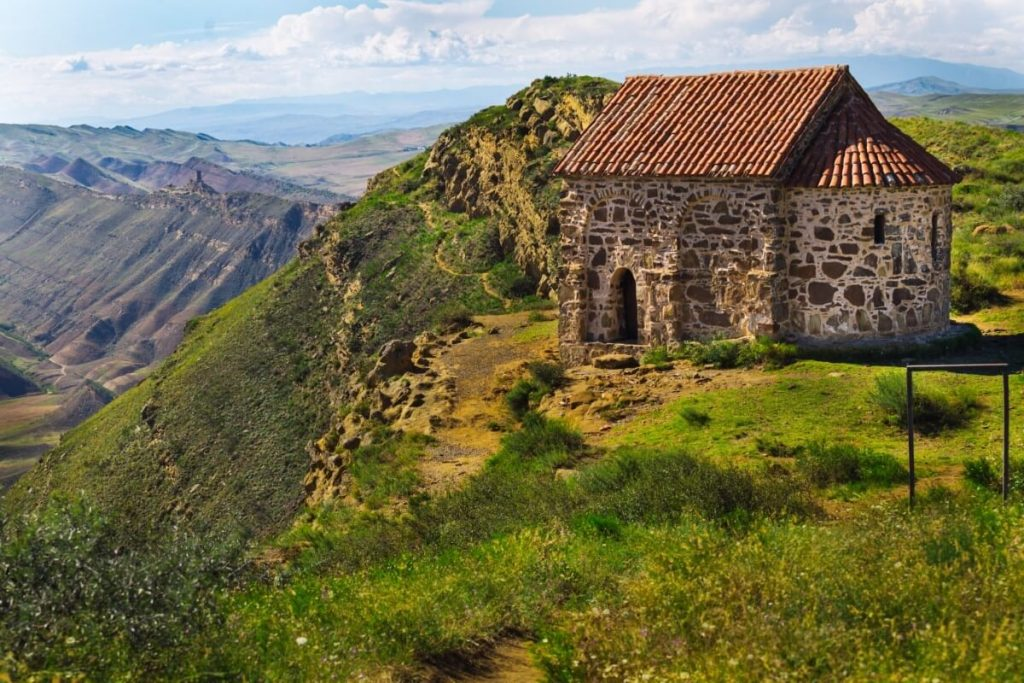 Dawit Garedża – legendarny klasztor na gruzińskiej półpustyni