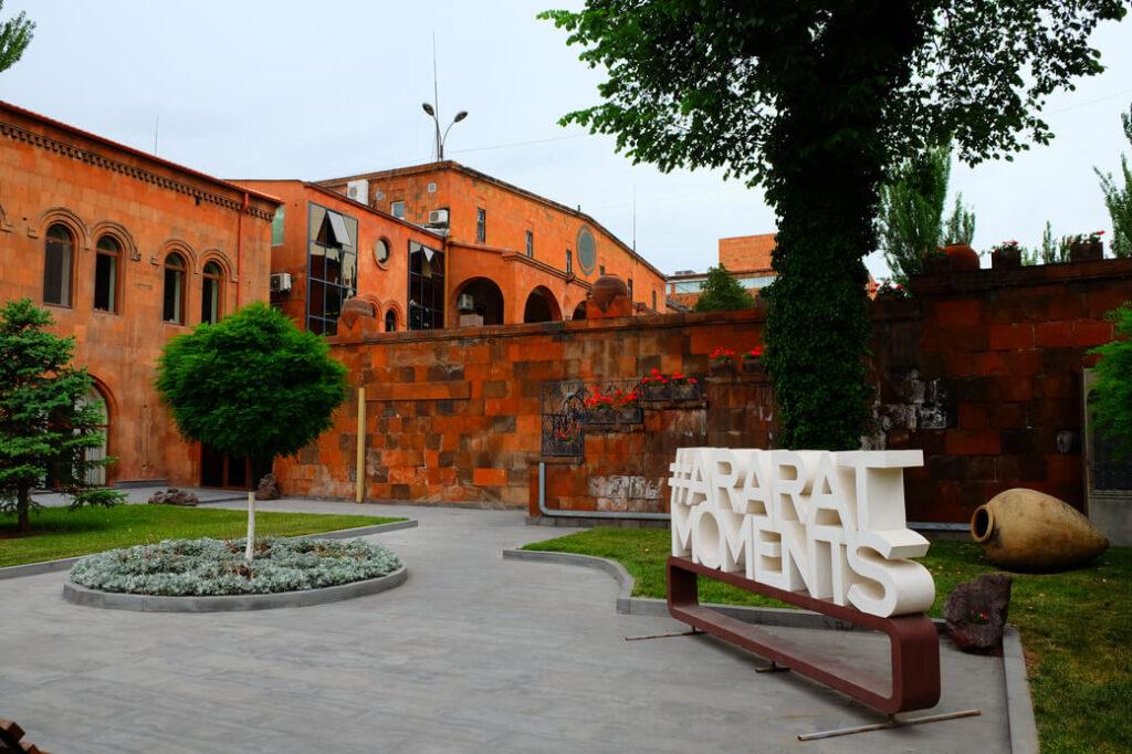 koniak ararat armenia erywań