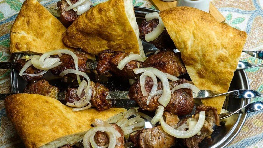 Przepis na mcwadi gruzińskie szaszłyki