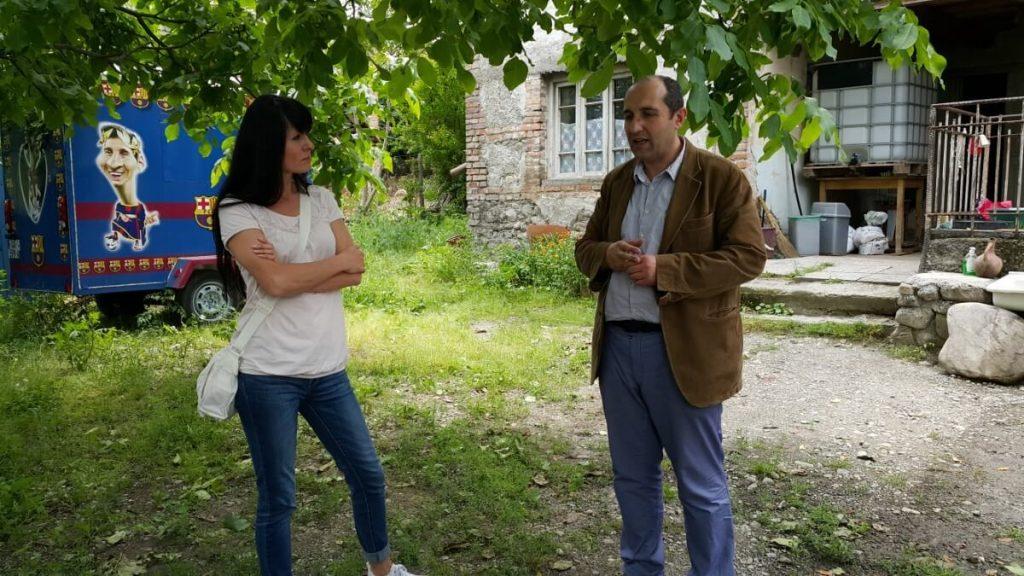 Degustacja wina Nika Bakhia