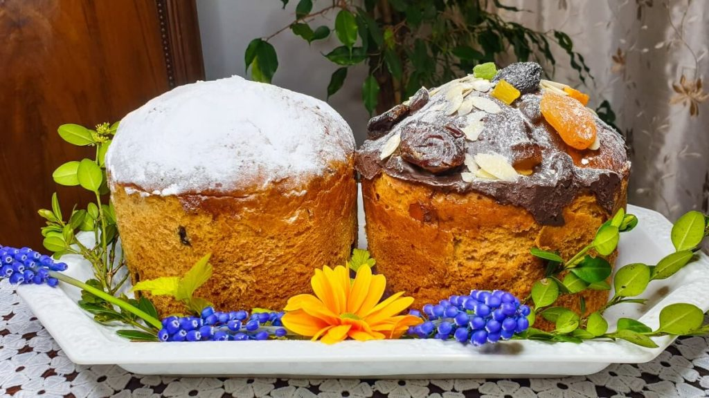 Paska gruzinskie ciasto wielkanocne